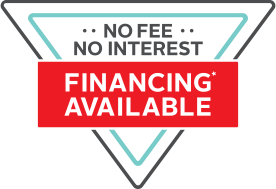 No Fee No Interest Financing Available