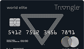Triangle World Elite Mastercard